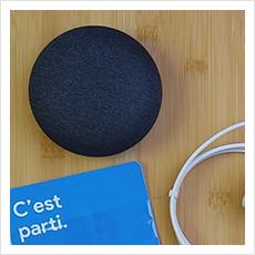 Objet Connecté testé : Google Home Mini
